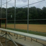 Photo taken at Baseball Field # 2 - Nottoway Park by Jennifer S. on 9/18/2011