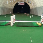 Photo taken at National Golf Academy Dome by Jordan M. on 2/16/2012
