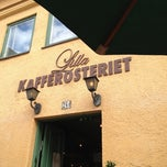 Photo taken at Lilla Kafferosteriet by Fredrik M. on 7/10/2012