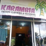 Photo taken at Karambia Shop by Bintang Panji A. on 2/29/2012