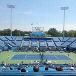 Photo taken at Connecticut Tennis Center by Dave D. on 8/23/2012