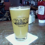 Photo taken at Mac's Broiler & Tap by Florian Q. on 4/26/2011