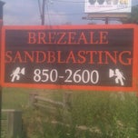 Photo taken at Brezeale Sandblasting by April B. on 8/31/2011
