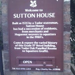 Photo taken at Sutton House by Sarah T. on 12/4/2011