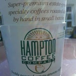 Photo taken at Hampton Coffee Company by Steve M. on 10/7/2011