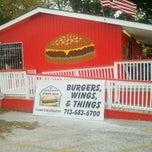 Photo taken at Little Bitty Burger Barn by Ricardo L. on 12/18/2011