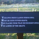 Photo taken at Stones River National Cemetery by Billy S. on 1/5/2012