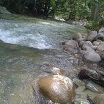 Photo taken at Sg. Congkak Waterfall by lynda m. on 3/9/2012