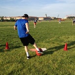 Photo taken at DC Social Kickball Fields by DC Social Sports C. on 5/18/2012
