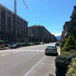 Photo taken at Piazza Europa by Fabio C. on 8/9/2011