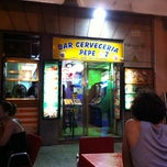 Photo taken at Bar Pepe by Alberto R. on 8/6/2011