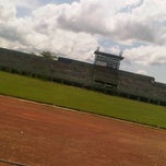 Photo taken at Stadion Bangkalan by Ferry H. on 12/1/2011
