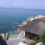 Photo taken at Six Senses Ninh Van Bay by Thuy N. on 5/20/2012