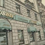 Photo taken at SUBWAY by Vitaliy K. on 1/7/2012