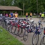 Photo taken at Millersburg Depot Holmes County Trail by Adam K. on 7/27/2012