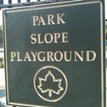 Photo taken at Park Slope Playground by Alex F. on 5/28/2012