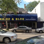 Photo taken at Maize N Blue Deli by MiRk™ on 5/30/2012