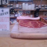 Photo taken at Ottomanelli's Meat Market - UES by Fred W. on 1/7/2012