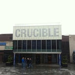 Photo taken at Crucible Theatre by Gaz a. on 4/27/2012