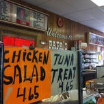 Photo taken at Papa's Deli by Brit S. on 10/9/2011