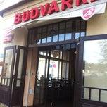 Photo taken at Budvarka by Anna V. on 3/28/2012