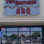 Photo taken at Two Brothers BBQ by R. LaShay B. on 4/21/2012