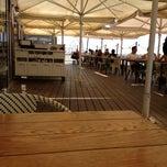 Photo taken at Bait Banamal - Restaurant (בית בנמל - המסעדה) by Eli G. on 6/24/2012