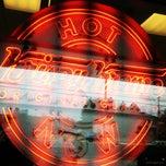 Photo taken at Krispy Kreme Doughnuts by Jeff L. on 2/18/2012