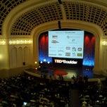Photo taken at Macky Auditorium by Mark W. on 9/24/2011