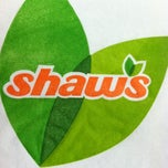 Photo taken at Shaws Supermarket by Maria S. on 4/19/2012
