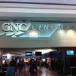 Photo taken at GNC Cinemas by Cid T. on 8/12/2012
