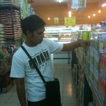 Photo taken at Pasaraya Kini by Hairu D. on 5/10/2012