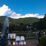 Photo taken at 城山公園 (Jōyama Park) by MinaTech F. on 10/16/2011