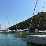 Photo taken at Marina Di Cala Galera by Ugo A. on 8/23/2011