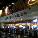 Photo taken at Cines Unidos by Luis C. on 8/30/2011