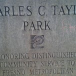 Photo taken at Charles C. Taylor Park by Tommi on 11/4/2011
