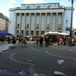 Photo taken at Hötorget by Regis D. on 5/5/2012