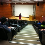 Photo taken at Cheung On Tak Lecture Theatre 張安德演講廳 by 蒙兀ナイト K. on 3/27/2011