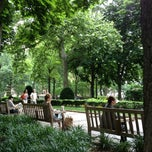 Photo taken at Rittenhouse Square by Tatiana A. on 5/27/2012