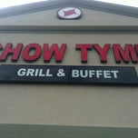 Photo taken at Chow Tyme Grill & Buffet by JennDuede on 4/18/2012
