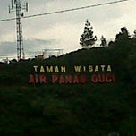 Photo taken at Taman Wisata Air Panas Guci by Bintar I. on 10/22/2011