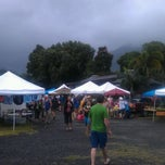 Photo taken at Hanalei Saturday Farmers Market by Bart B. on 11/26/2011