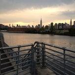 Photo taken at Newton Creek by Thomas H. on 8/9/2012