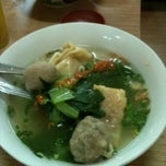 Photo taken at Bakso Gun by Bee on 7/12/2012