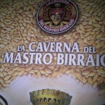 Photo taken at La Caverna Del Mastro Birraio by Stefania M. on 3/19/2011