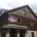 Photo taken at хижа Вихрен (Vihren hut) by St John Hill Bansko on 6/16/2012