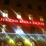 Photo taken at Privredna banka Zagreb (PBZ) by Vla P. on 12/21/2011