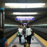 Photo taken at RTA Airport Rapid Station by Mark D. on 5/29/2012
