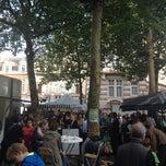 Photo taken at Marché de la place van Meenen / Markt van Meenenplein by Amaury G. on 8/6/2012