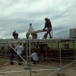 Photo taken at Dave MATTHEWS BAND CARAVAN MAIN STAGE BUILD by Memphisdredlock Black Dynamite T. on 7/1/2011